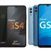 Neue Gigaset Smartphones mit selbst auswechselbarem Akku