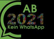 Für diese Handys gibt es ab 2021 kein WhatsApp mehr