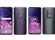 Motorola: Das Logo leuchtet